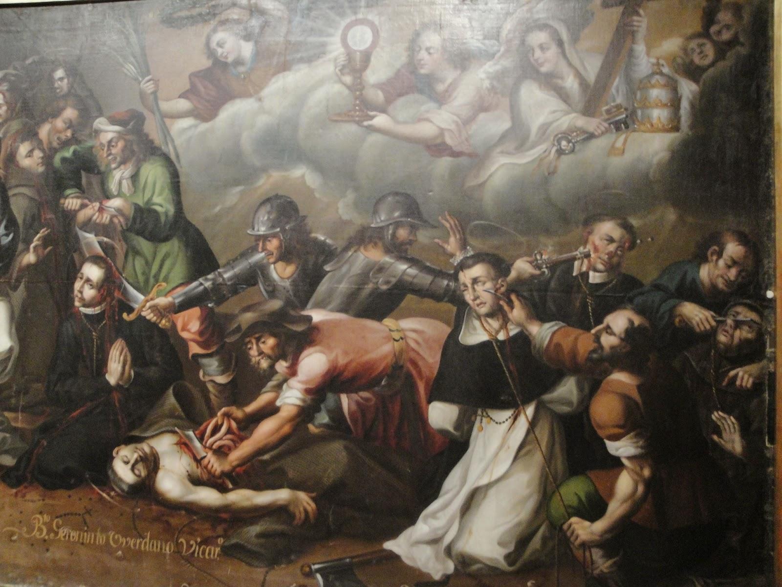 """Luis Berrueco, """"I Martiri di Gorcum"""", Puebla, Messico"""