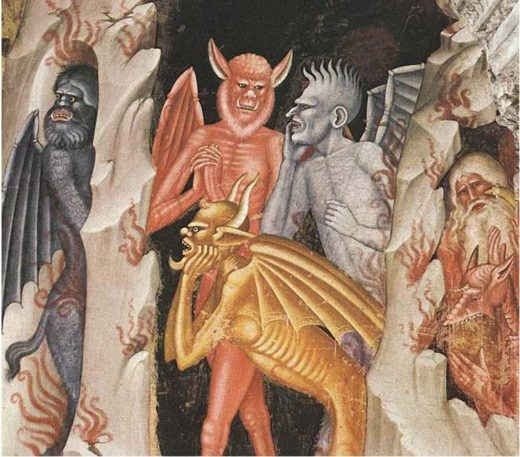 Diavoli-di-guardia-al-limbo-Andrea-di-Bonaiuto-Firenze-Santa-Maria-novella