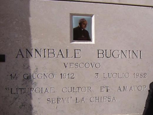 bugnini tomb